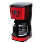 Cafetiera digitala Heinner HCM-1500RDIX, Morning Passion, Rosu