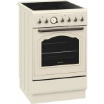 Aragaz electric Gorenje EC55CLI, model bej rustic