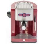 Espressor manual Oursson EM1900/DC, 19 bari, Rosu