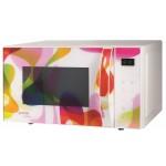 Cuptor cu microunde electronic Gorenje MO20KARIM, 20L, 1200W, alb colorat