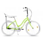 "Bicicleta Pegas Strada2 17STRADA2ST3SGRE, 26"", 3Viteze, Verde Neon"