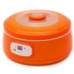 Aparat de facut iaurt Oursson FE1502D/OR, 20W, portocaliu