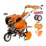 Motosapa RURIS 7500ACC1 + roti cauciuc 4.00-8+rarita+roti metalice 350 fara manicot