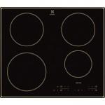 Plita cu inductie Electrolux EHH6340IOB, 60 cm, negru