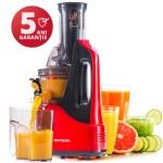 Storcător de fructe şi legume Oursson JM7002/RD, 240W, 60 RPM, rosu