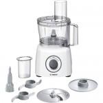 Robot de bucătărie compact Bosch MCM3100W, 800W, alb