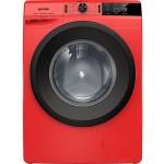 Transport Gratuit-Masina de spalat rufe Gorenje WEI843R, 8 kg, 1400 RPM, Rosu Aprins, A+++