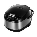 Multicooker Heinner HMCK-5BK, 5 L, Vas antiadeziv, 11 programe, Timer, Control Touch, Functie mentinere la cald, Negru