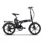 Bicicleta electrica RKS MX7-Y, Negru
