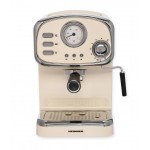 Espressor manual Heinner HEM-1100CR, 1100 W, 15 Bar, 1.25 L, Crem