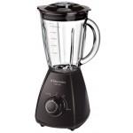 Blender PerfectMix Electrolux ESB2300, 450W, 1.5 l, recipient sticla, negru/gri