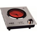 Plita electrica Samus PX201C, 1 arzator, inox