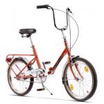 """Bicicleta Pegas Practic Retro 18PRACTICRTROCOO, 20"""", 3 viteze, Portocaliu Cupru"""