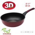 Tigaie Wok Oursson PW2822P/DC, 3D, 28cm