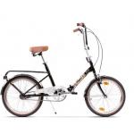 "Bicicleta Pegas Practic Retro 18PRACTICRTROBLK, 20"", 3viteze, Negru Stelar"