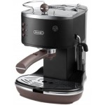 Espressor manual Icona Vintage ECOV 311.BK, 1100W, 1.4L, 15bar, negru