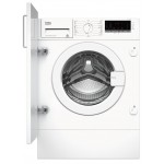 Masina de spalat rufe incorporabila Beko WITV8712X0W, 8kg, 1400RPM, Alb, A+++