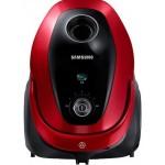 Aspirator cu sac Samsung VC07M25E0WR, 2.5l, Tub telescopic, Rosu