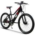 Bicicleta electrica RKS T7, 25 km/h, 36V, 21 viteze, Negru