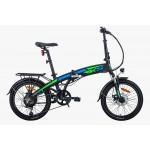Transport Gratuit- Bicicleta electrica RKS TNT5, pliabila, Litiu Ion