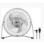 Ventilator de birou Goobay USB-8SR-GBAY, Argintiu