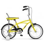 """Bicicleta Pegas Mezin 17MEZIN-B-YELOW, 16"""", 1 viteza, Galben Bondar"""