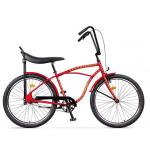 "Bicicleta Pegas Strada1 17STRADA1ST2SRED, 26"", 2 Viteze, Rosu Dictator"