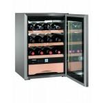 www.magazinieftin.ro-Transport Gratuit Vitrina de vinuri Liebherr WKes 653, 38L, Inox-WKes 653-20