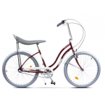 "Bicicleta Pegas Strada2 17STRADA2ST3SRED, 26"", 3 viteze, Visiniu Cochet"