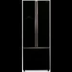 Combina frigorifica Side By side Hitachi R-WB550PRU2(GBK), 510l, Negru lucios