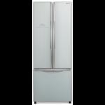 Combina frigorifica Side By side Hitachi R-WB480PRU2(GS), 456l, Sticla Argintie