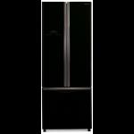 Combina frigorifica Side by Side Hitachi R-WB480PRU2(GBK), 456l, Negru lucios