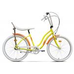 "Bicicleta Pegas Strada2 17STRADA2ST3SYEL, 26"", 3 Viteze, Galben Floare"