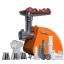 Masina de tocat universala Oursson MG5530/OR, 1500W, Portocaliu