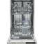 Masina de spalat vase incorporabila Heinner HDW-BI4506A++, 10seturi, A++