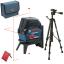 BOSCH GCL 2-15 + RM 1 + BT 150 Nivela laser cu linii (15 m) + Suport professional + Stativ 0601066E00 + 0601096B00 (06159940FV)