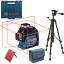 BOSCH GLL 3-80 + BT 150 Nivela laser cu linii (30 m) + Geanta + Stativ 0601063S00 + 0601096B00