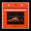 Cuptor electric incorporabil LDK A69EZRD, digital, portocaliu