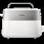 Prăjitor de pâine Philips 8 setări, Design compact, Grilaj de încălzire integrat HD251600