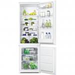Combina frigorifica incorporabila Zanussi ZBB28441SA, Clasa A+