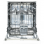 Masina de spalar vase Heinner HDW-FS6006WA++, 12seturi, A++