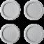 Picioruse antivibratie din cauciuc pentru masini de spalat rufe E4WHPA02 Electrolux