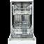 Masina de spalat vase Vortex VO1700, Display, 45 cm, 10 Seturi, Alb, A++