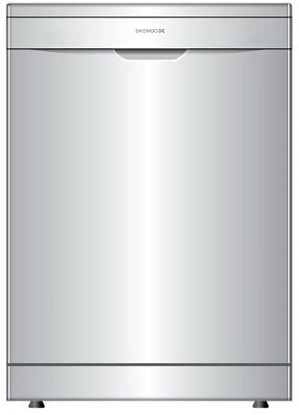 Masina de spalat vase Daewoo DDW-G1214HS, 12seturi, Silver, A