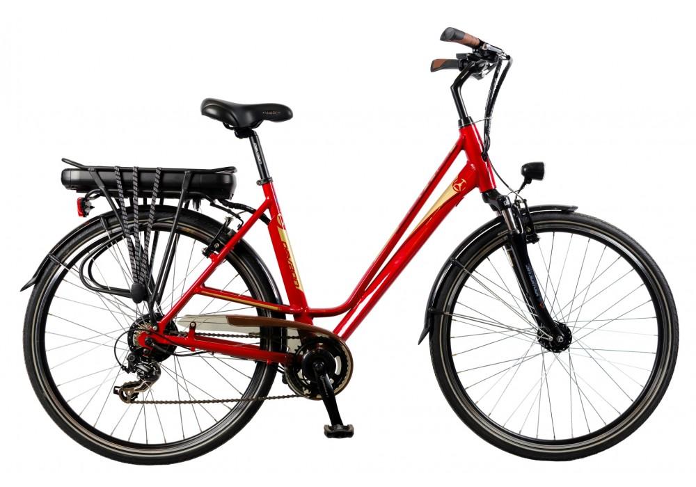 TRANSPORT GRATUIT - Bicicleta electrica Devron 28122