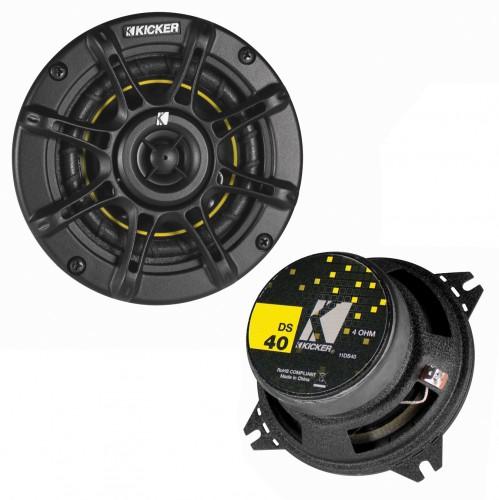 Difuzor coaxial Kicker DS40, 2 cai, 25W, 10cm