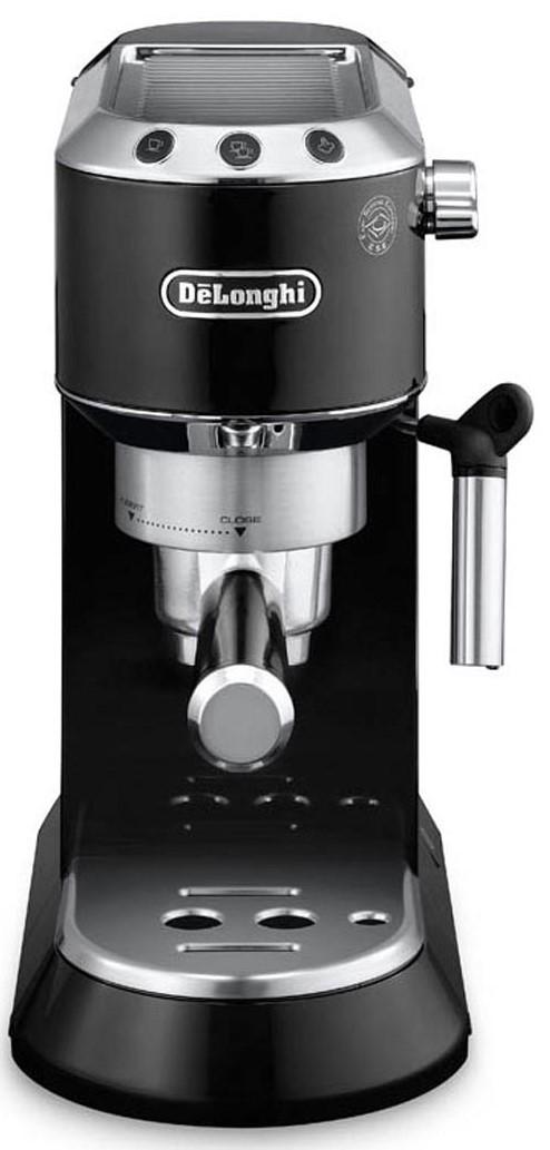 Espressor cu pompa DeLonghi EC680.BK, 15bari, Manual, negru/inox