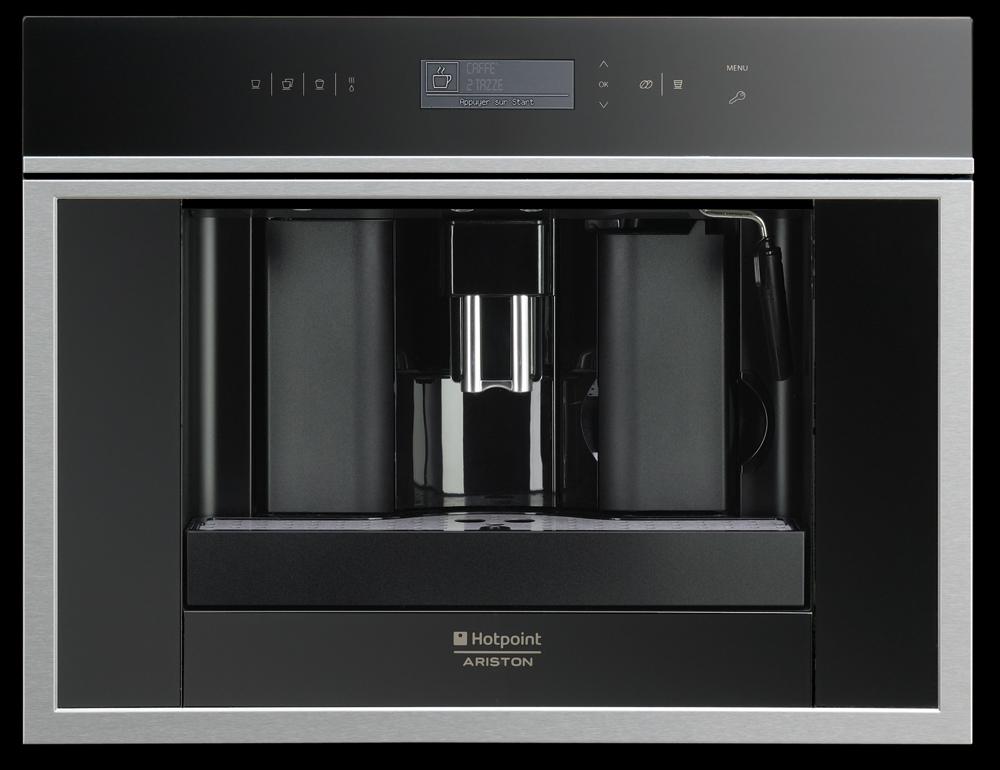 Espressor incorporabil Hotpoint Ariston MCK 103 X/HA, Inox antipata