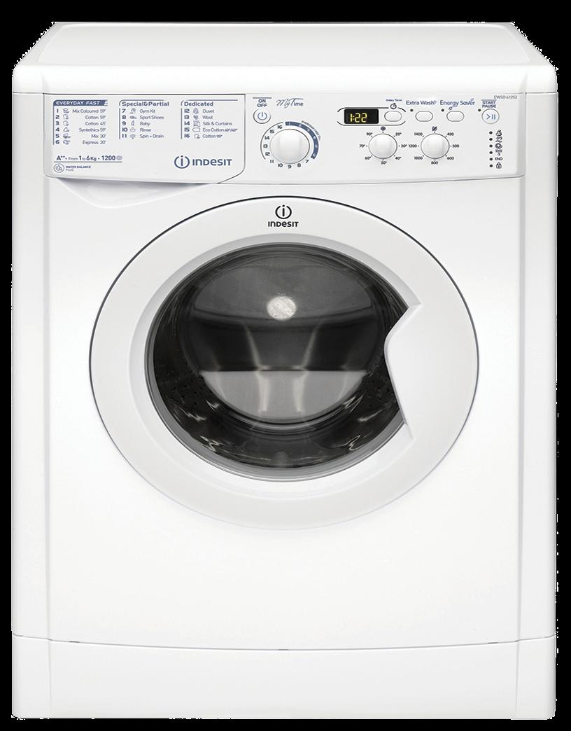 Masina de spalat rufe Indesit EWSD 61252 W, 6kg