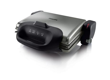 Gratar de masa Philips HD4467/90, 2000 W